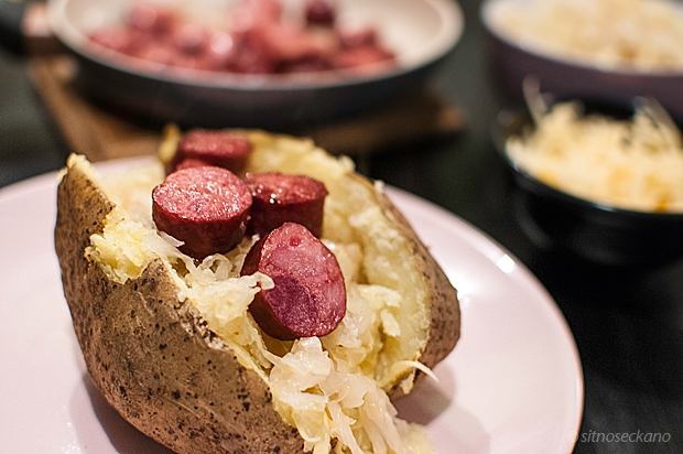 potatoe sauerkraut