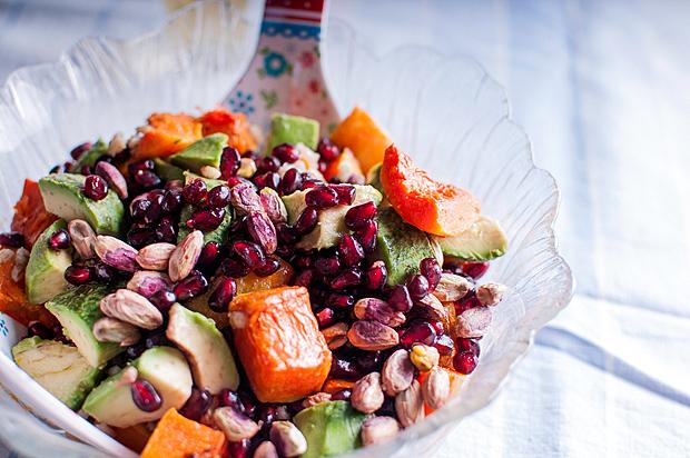 barley pumpkin salad salata tikva avokado