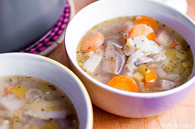 rich vegetable soup - keleraba