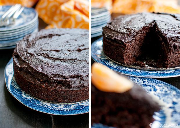 gluten free vegan cake-chocolate