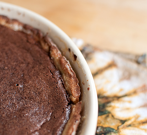 chocolate tahini tart-8