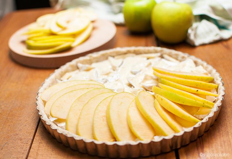 tart so brie i jabolka-10