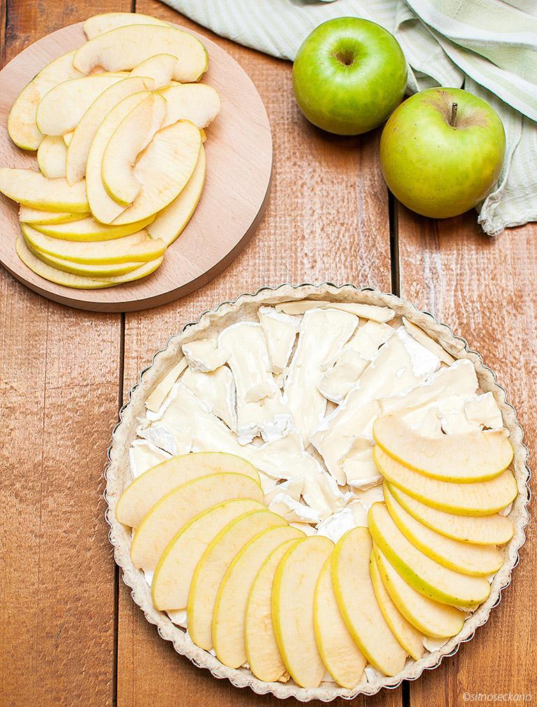 tart so brie i jabolka-9