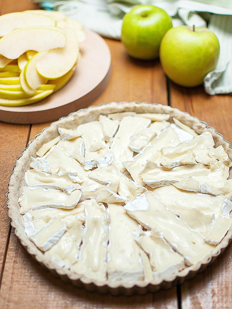 tart so brie i jabolka