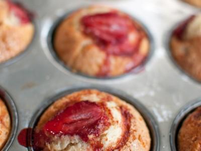 strawberry muffins-11
