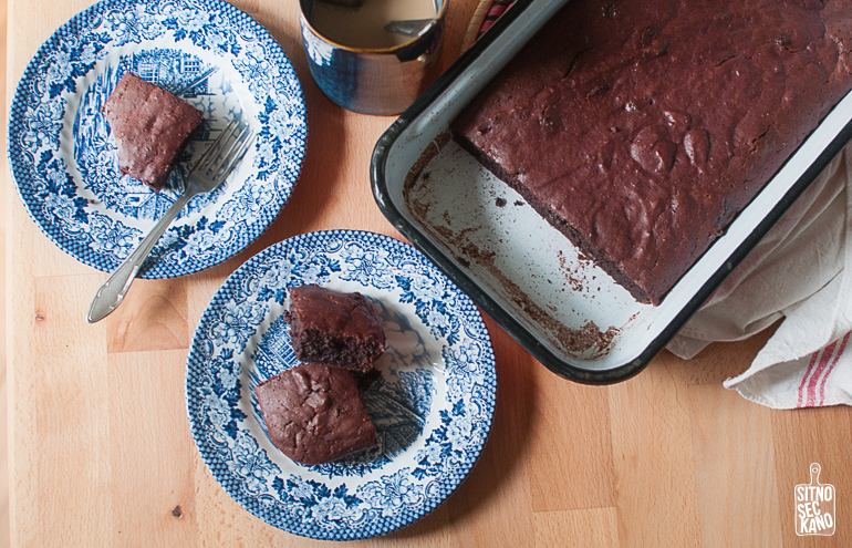 Purple Sweet Potato Brownies / Sitno Seckano