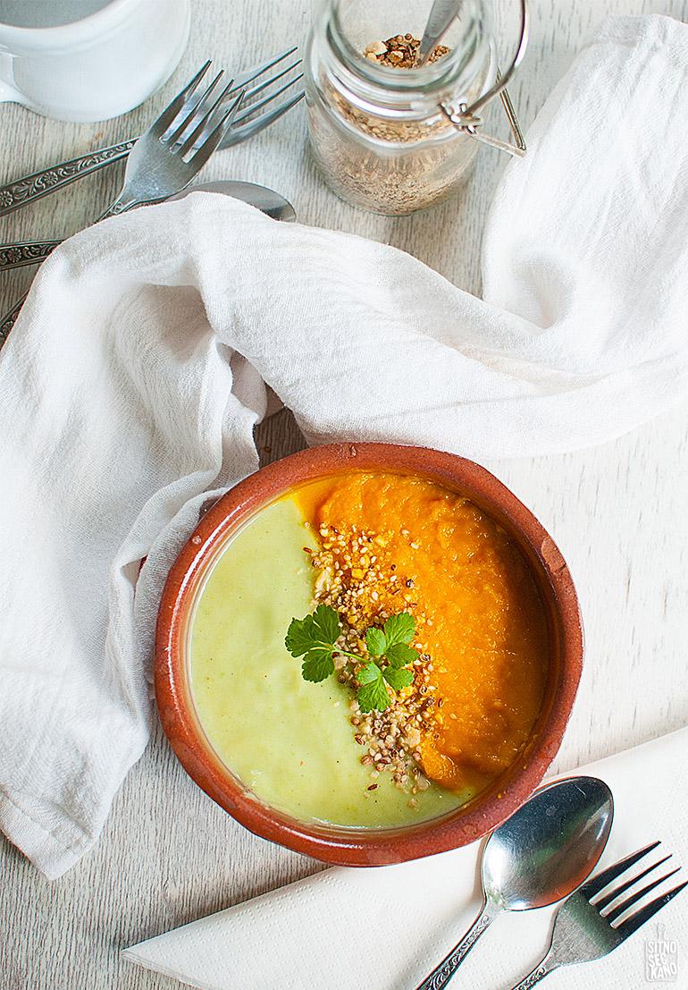 zucchini carrot soup-14