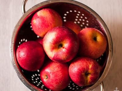 baked apples / sitno seckano