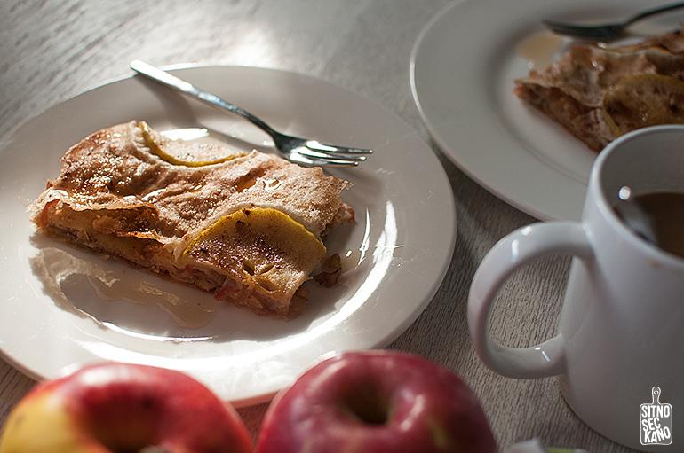 Crisp apple tart / Sitno seckano