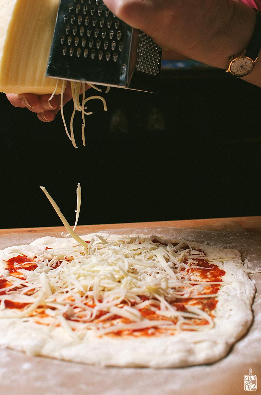 pizza | sitno seckano