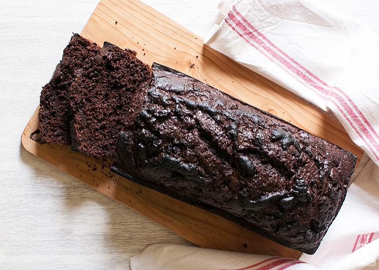 chocolate coffee cake-6
