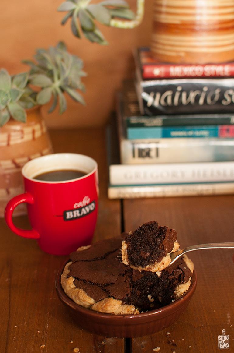 Brownie walnut pie   Sitno seckano