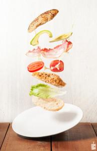hicken caesar sandwich | Sitno seckano