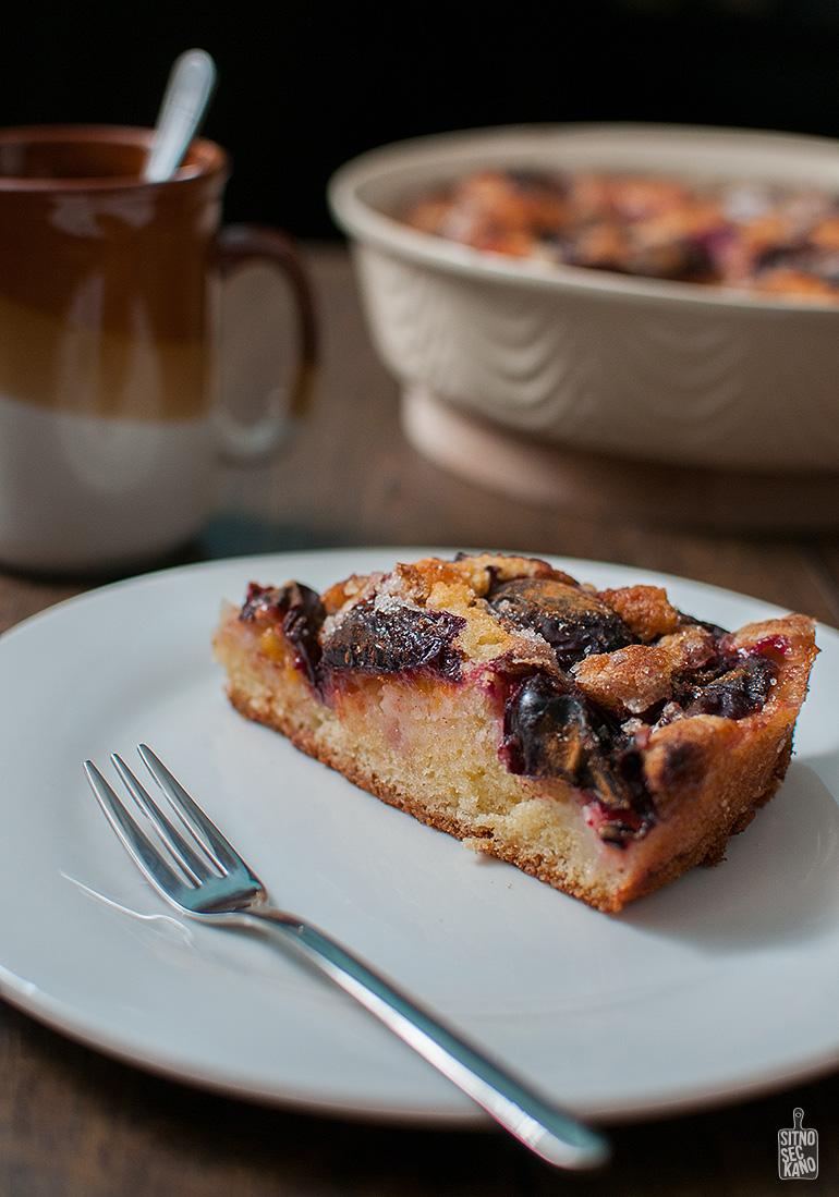 Plum cake | Sitno seckano