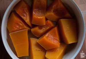 Candied pumpkin   Sitno seckano