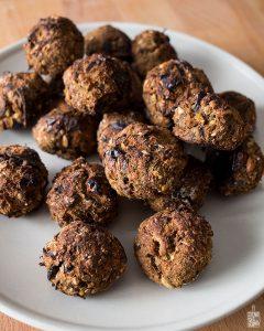 Eggplant meatballs | Sitno seckano