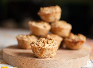 Mini apple pies | Sitno seckano