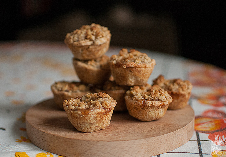 Mini apple pies   Sitno seckano