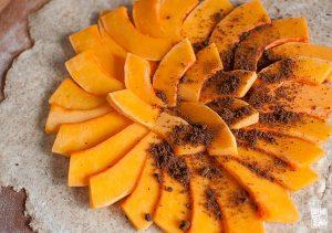 Pumpkin tart   Sitno seckano