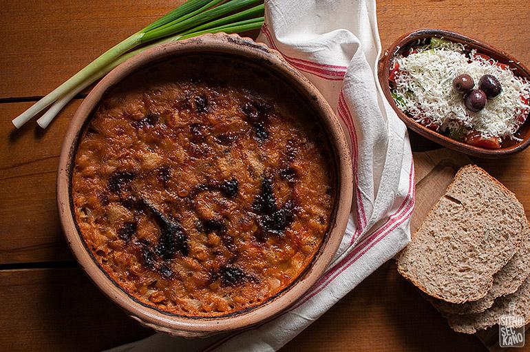 Baked beans | Sitno seckano