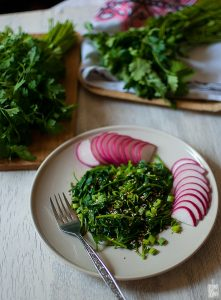 Parsley salad | Sitno seckano
