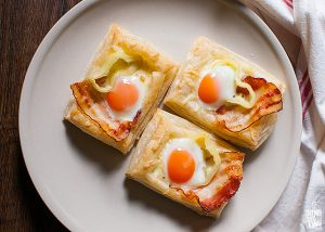 Quail egg tarts | Sitno seckano