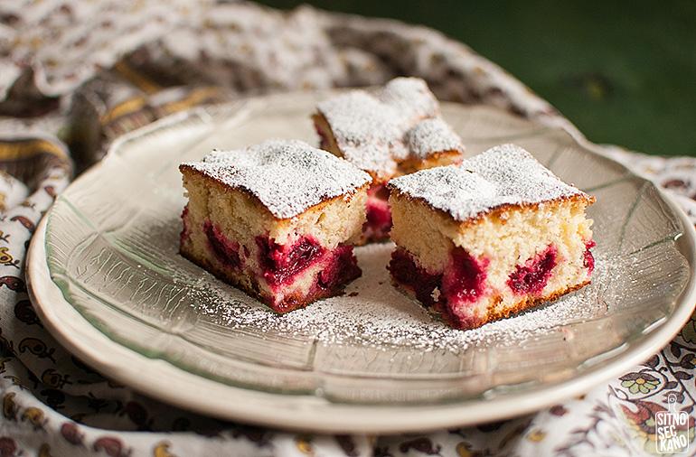 Sour cherry cake | Sitno seckano