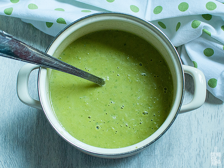 Green pea soup | SItno seckano