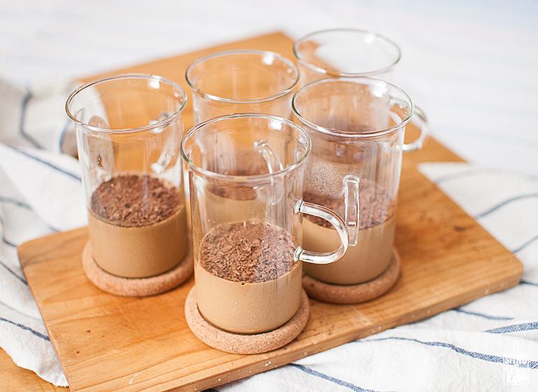 Coffee panna cotta | Sitno seckano