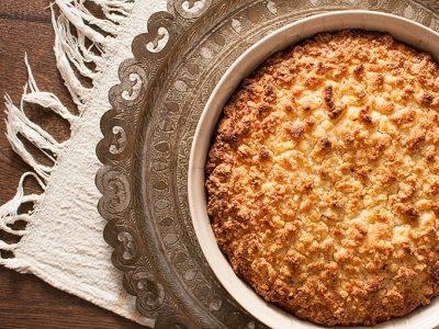 Lemon kefir streusel cake | SItno seckano