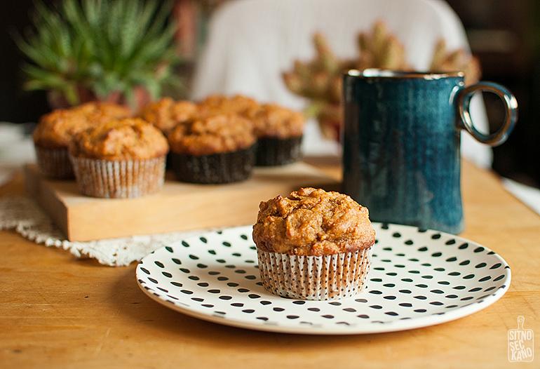 Sweet potato muffins | Sitno seckano