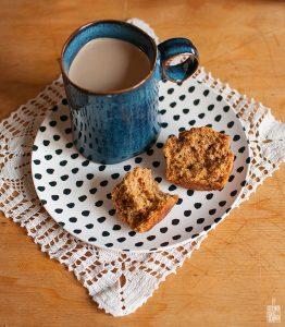 Sweet potato muffins   Sitno seckano
