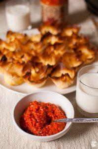 Mini filo dough cups with cheese | Sitno seckano