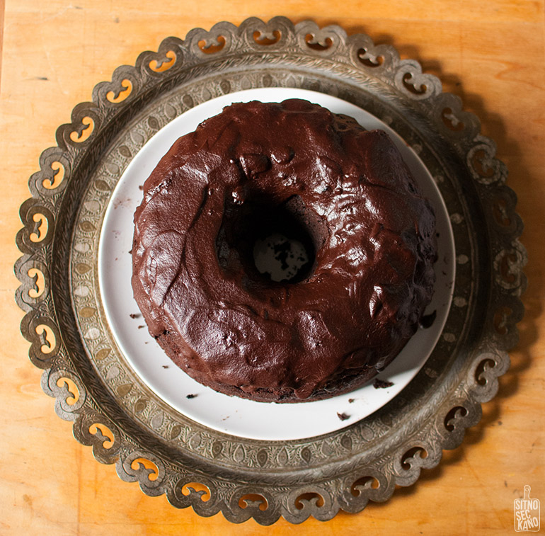 Blackberry chocolate bundt cake | Sitno seckano
