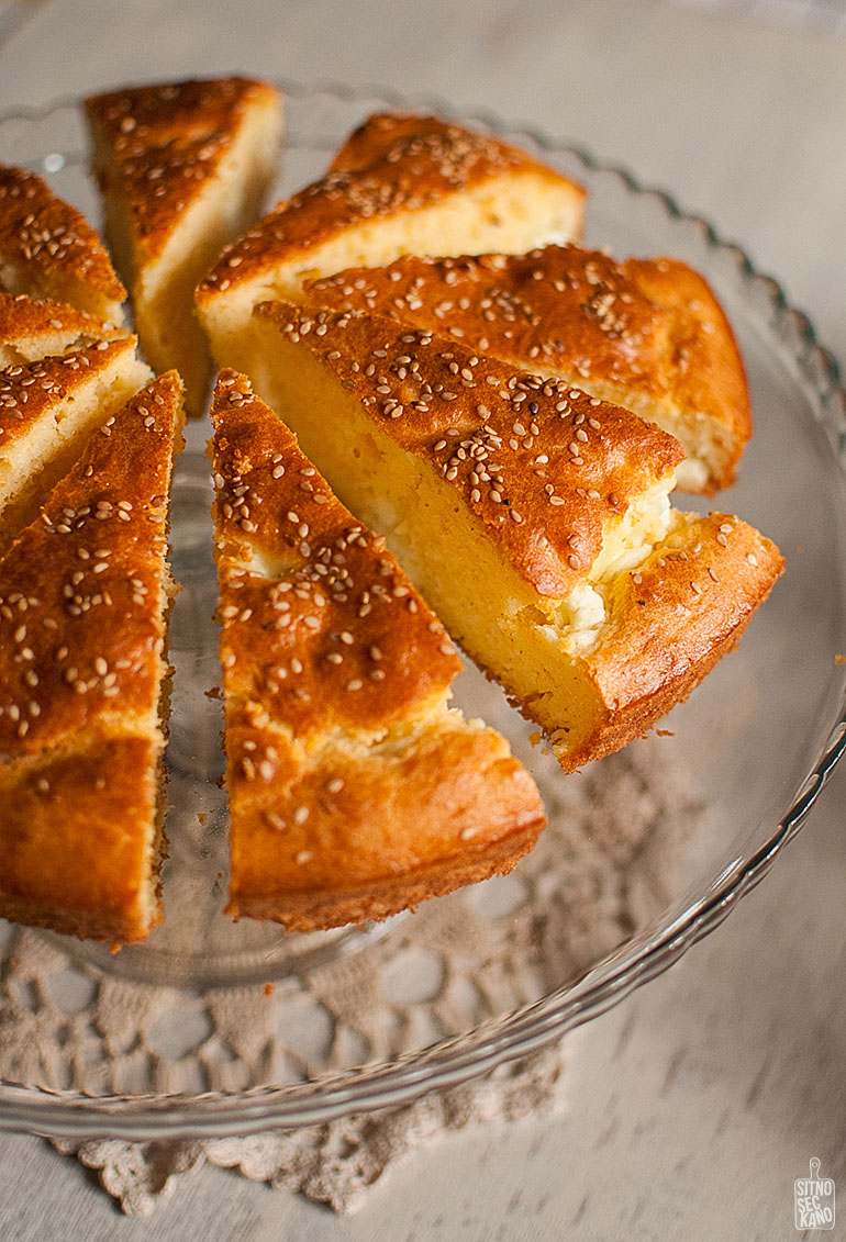 Cheese pogacha | Sitno seckano