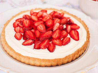 Strawberry Mascarpone Tart | Sitno Seckano