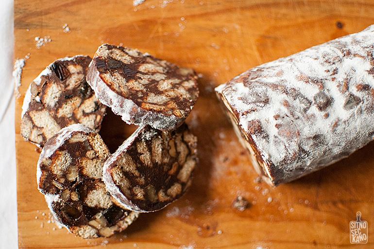 Chocolate salami | Sitno seckano